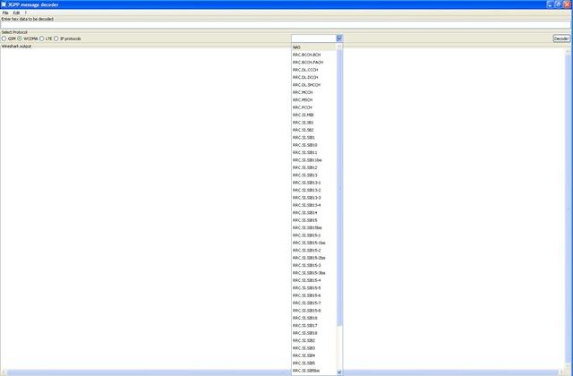 3GPP Decoder - Decode 3G, UMTS, HSPA, LTE, GSM Message