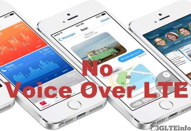 VoLTE in iPhone 6- ios 8