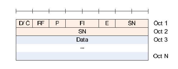 LTE RLC AMD PDU (No LI)