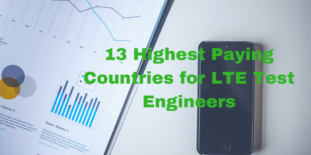 13 Highest Paying Countries for LTE Testers